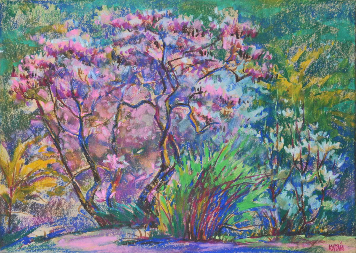 "Tania Kugai ""Botanical Garden in the Spring"""