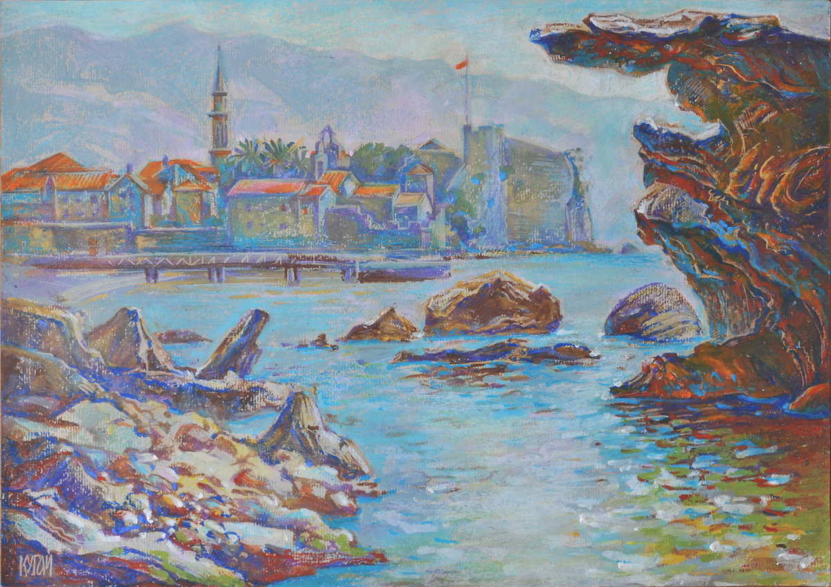 "Tania Kugai ""Budva. Sea view"""